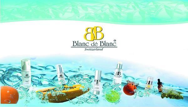 Mỹ Phẩm Cao Cấp Thụy Sỹ Blanc dé Blanc được sử dụng trong liệu trình điều trị tại Mỹ viện Phương